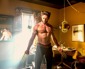 "Hugh Jackman as Wolverine in ""X-Men: Days of Future Past."""