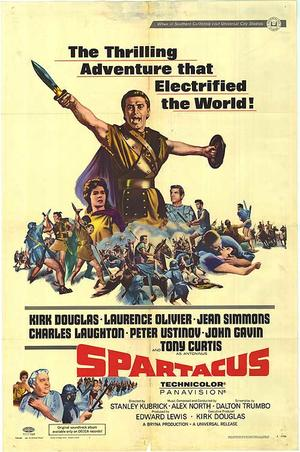 "Poster art for ""Spartacus."""
