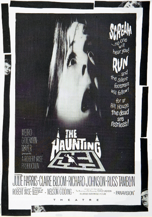 "Poster art for ""The Haunting."""