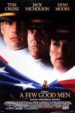 "Poster art for ""A Few Good Men."""