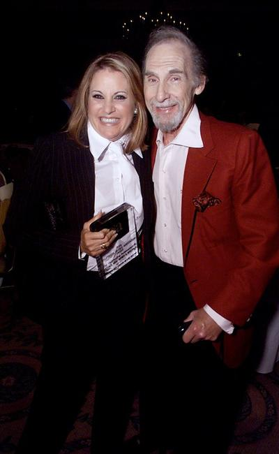 Lorna Luft and Sid Caesar at the 17th Annual TCA Awards.