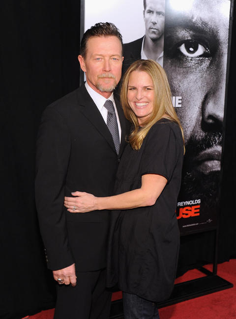 Robert Patrick and Guest at the New York premiere of