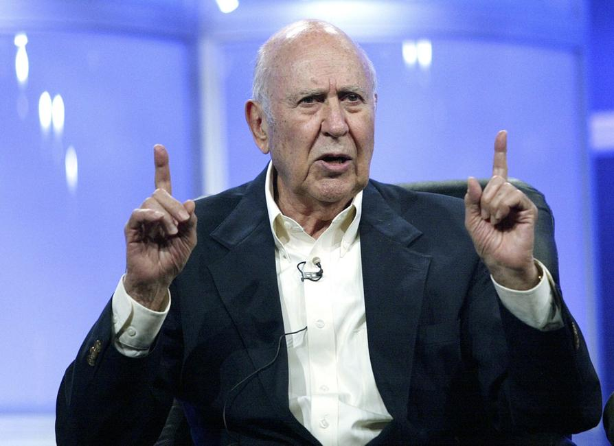 Carl Reiner at the 2005 Television Critics Association Summer Press Tour.