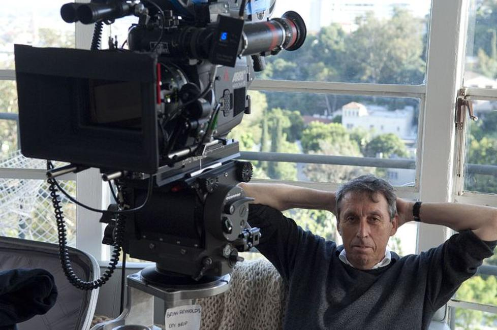 Director/producer Ivan Reitman on the set of