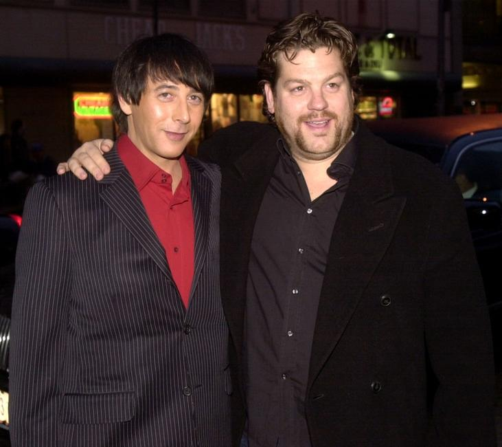 Paul Reubens and Director Ted Demme at the screening of