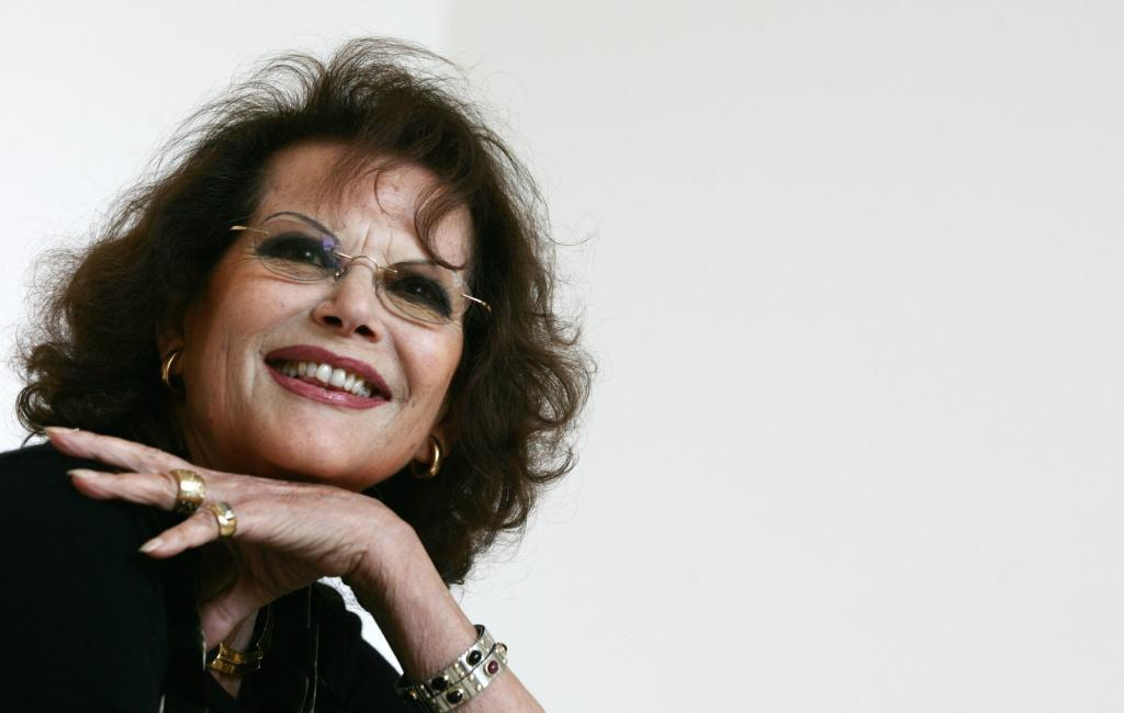 Claudia Cardinale at the Med Film festival.