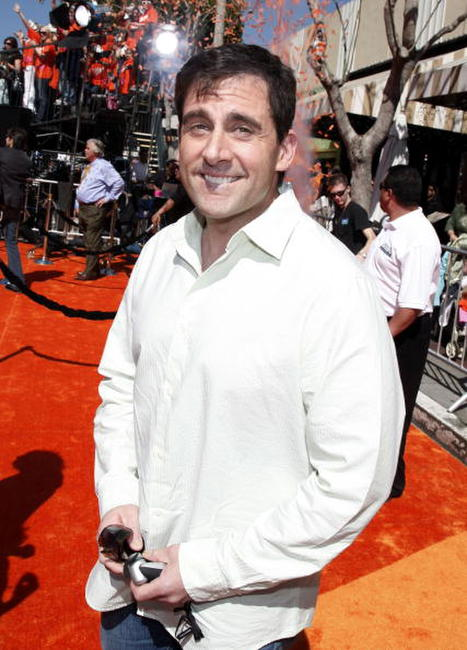 Actor Steve Carell at the L.A. premiere of