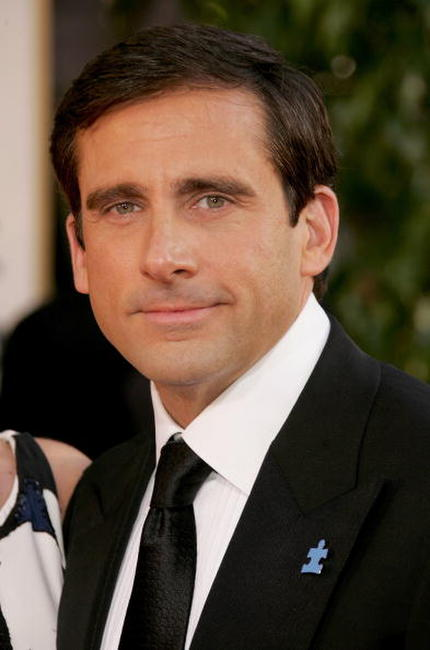 Steve Carell at the 64th Annual Golden Globe Awards in Beverly Hills.