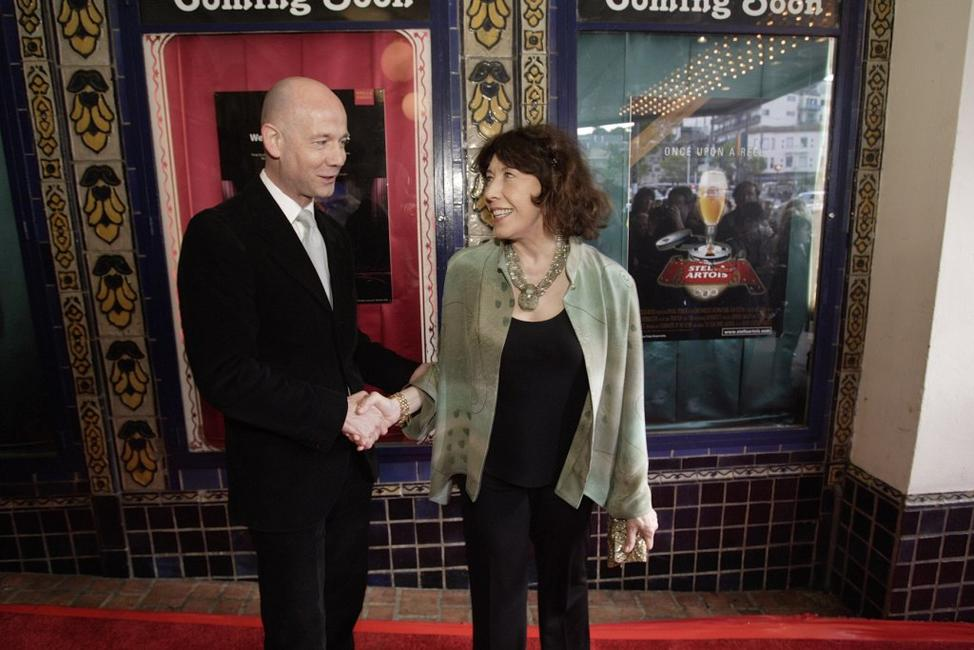 Lily Tomlin and Graham Leggat at the closing night of the 49th San Francisco International Film Festival.