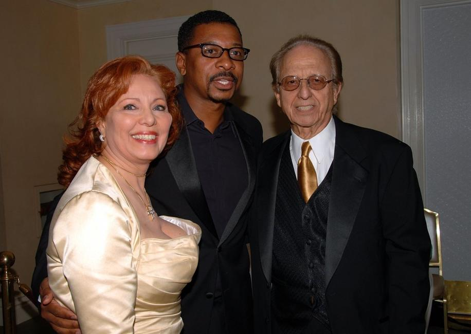 Robert Townsend, Kate McGray and Norby Walter at the Norby Walters 16th Annual Night Of 100 Stars Oscar Gala.
