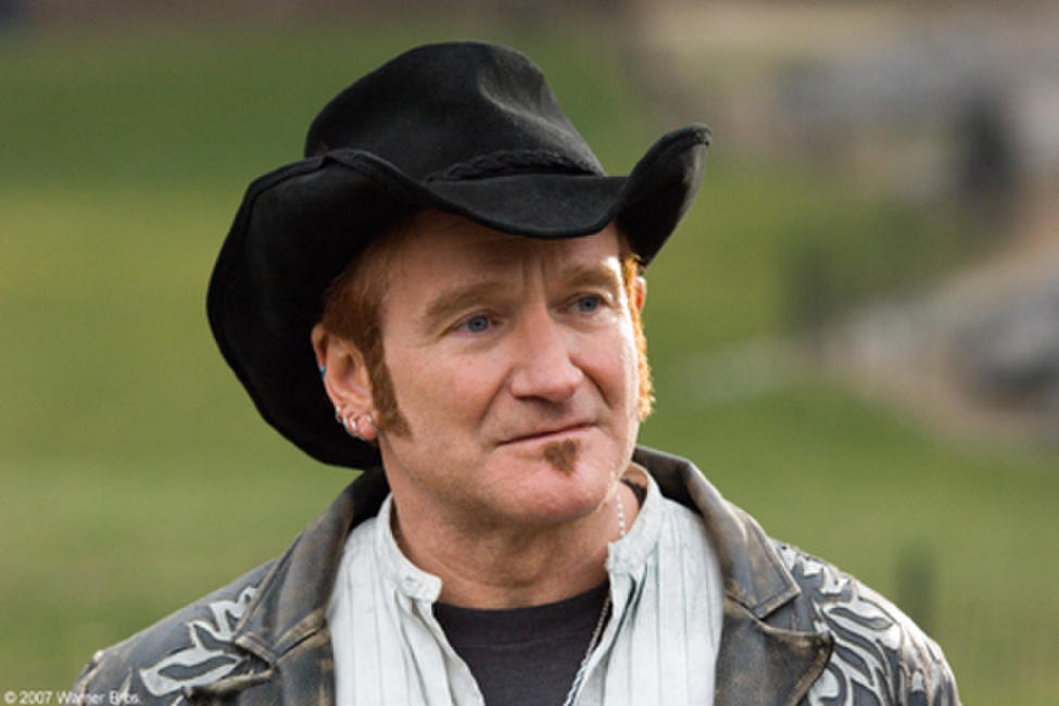 "Robin Williams as Maxwell ""Wizard"" Wallace in"