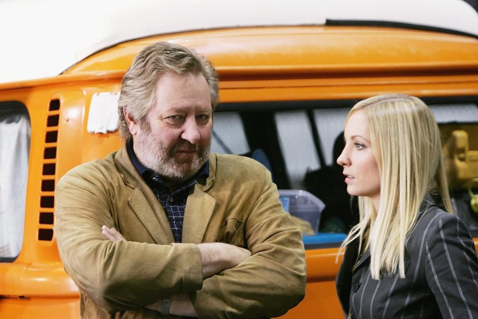 John Wood and Joanne Froggatt at the Sydney photocall of