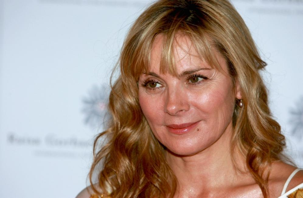 Kim Cattrall at the Raisa Gorbachev Foundations Second Annual Gala Dinner.