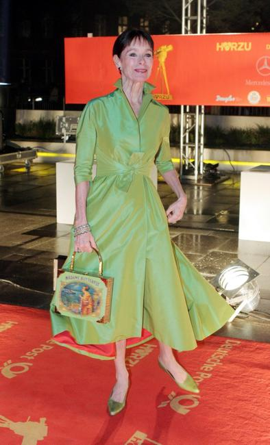 Geraldine Chaplin arrives at the