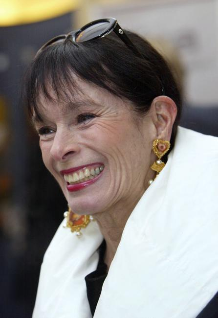 Geraldine Chaplin at the 2004 DIVA Video Awards.