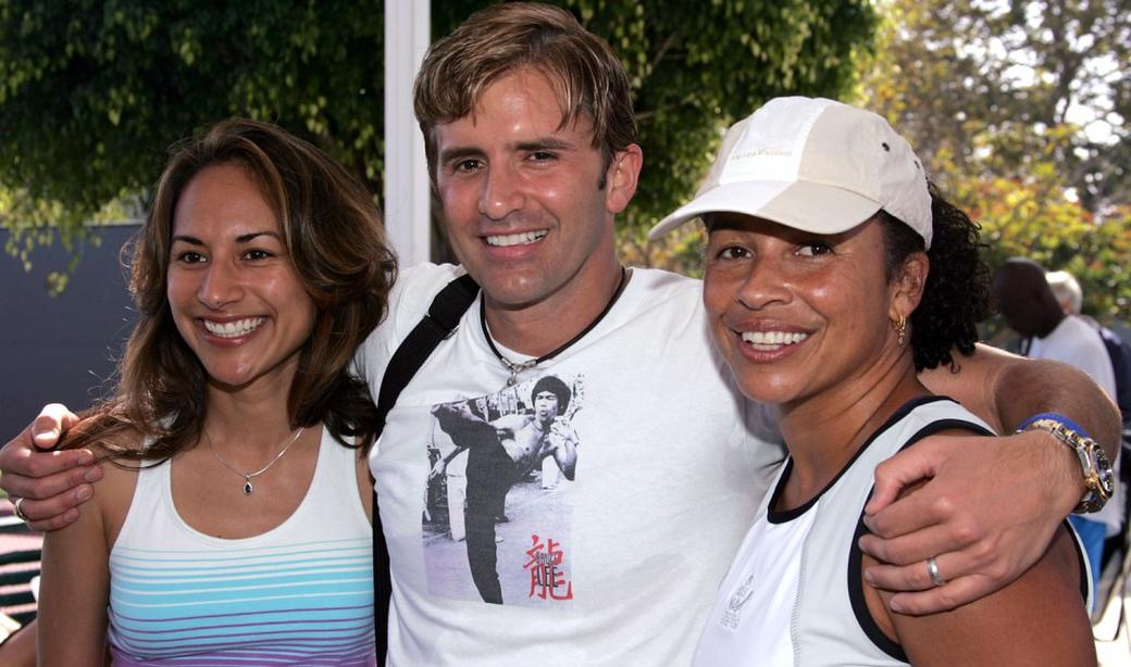 Michelle Bonilla Dr. Robert Ray and Rae Dawn Chong at the celebrity