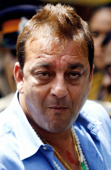 Sanjay Dutt at the Terrorist And Disruptive Activities (TADA) Court.