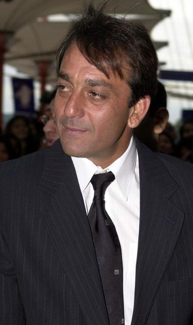 Sanjay Dutt at the first International Indian Film Awards.