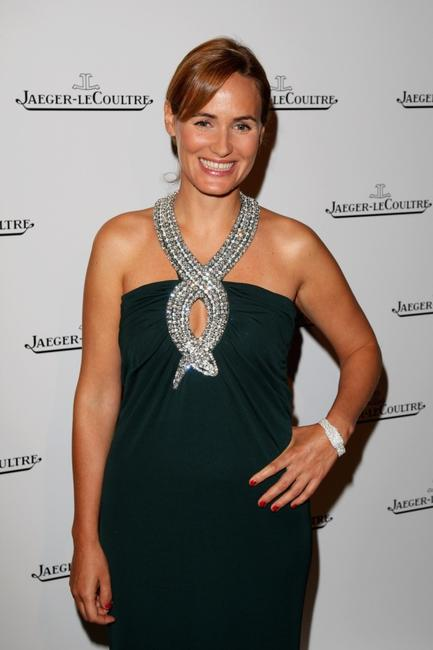 Judith Godreche at the Jaeger Le Coultre Host Celebration during the 64th Venice Film Festival.