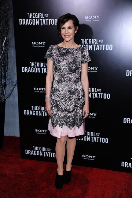 Embeth Davidtz at the New York premiere of