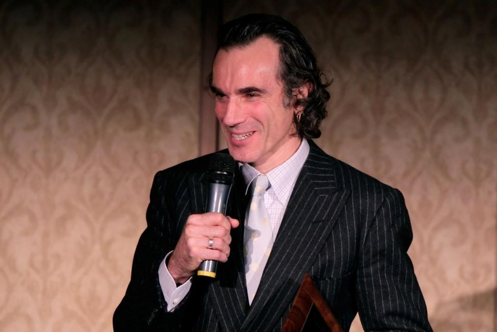 Daniel Day-Lewis at the 2007 LA Film Critic's Choice Awards.