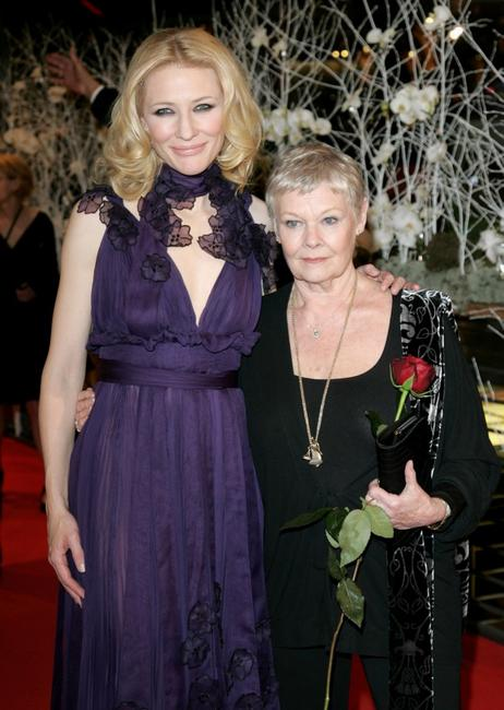 Judi Dench and Cate Blanchett at the 57th Berlinale International Film Festival held in 2007 to promote the movie