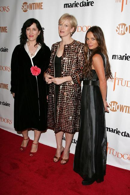 Gabrielle Anwar, Maria Doyle Kennedy and Joanna Coles at the New York premiere of Showtime's