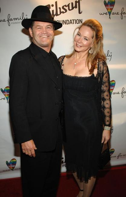 Micky Dolenz and Donna Dolenz at the Fifth Annual We Are Family Celebration Gala.