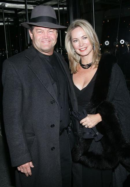 Micky Dolenz and Donna Dolenz at the New York premiere of