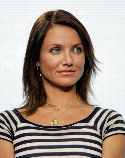 Cameron Diaz at the launching of Save Our Selves, the Campaign for a Climate Crisis.