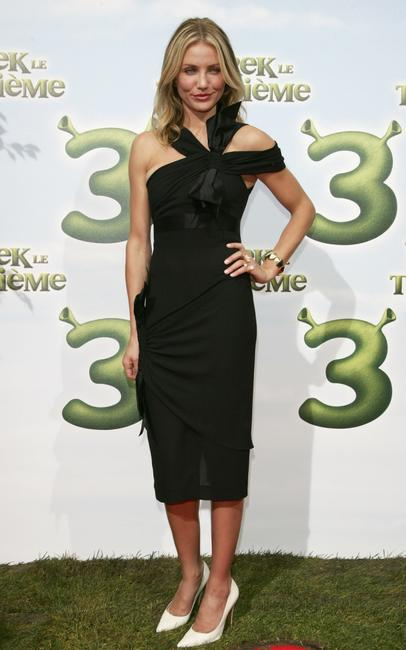 Cameron Diaz at the France premiere of
