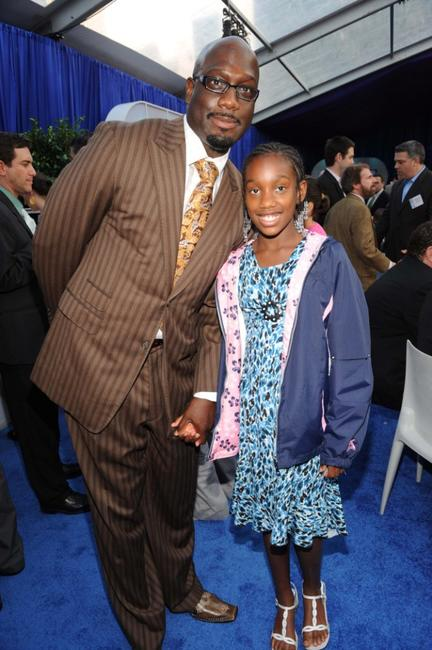 Richard T. Jones and Aubrey Jones at the 2008 FOX Upfront after party.