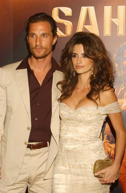 Matthew McConaughey and Penelope Cruz at the premiere of