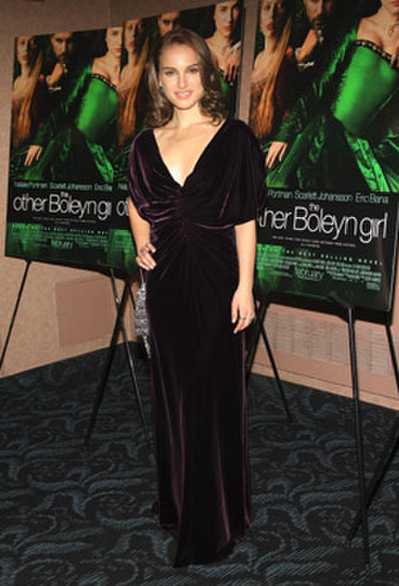Actress Natalie Portman at a N.Y. screening of