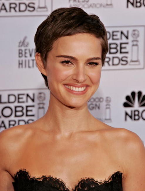 Natalie Portman at the 63rd Annual Golden Globe Awards in Beverly Hills, California.