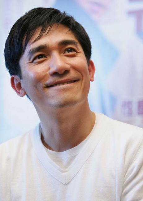 "Tony Leung at the premiere of ""Seoul Raiders"" in Beijing, China."