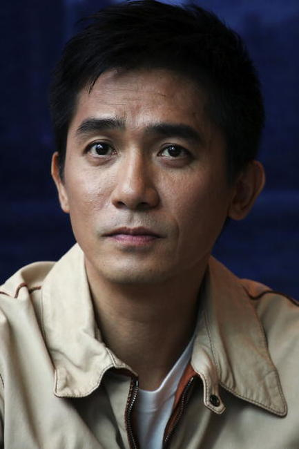 "Tony Leung at a press conference and photocall to promote ""Confession of Pain""in Hong Kong, China."