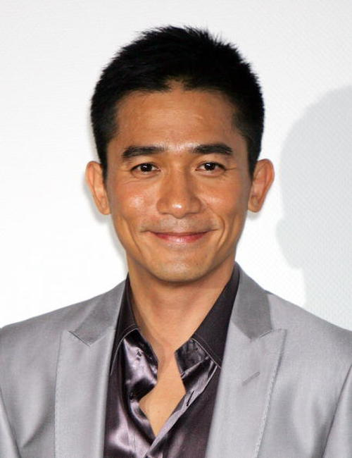 "Tony Leung at the promotion for the film ""Confession of Pain"" in Tokyo, Japan."