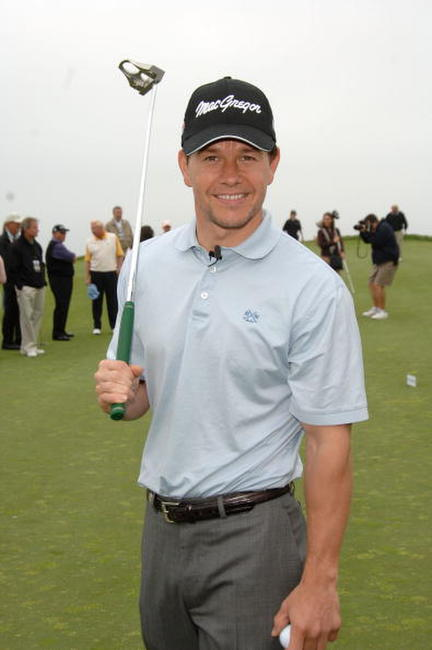 Mark Wahlberg the 9th Annual Michael Douglas & Friends Celebrity Golf Tournament in Rancho Palos Verdes, California.