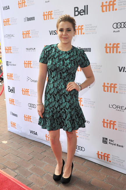 Mae Whitman at the premiere of