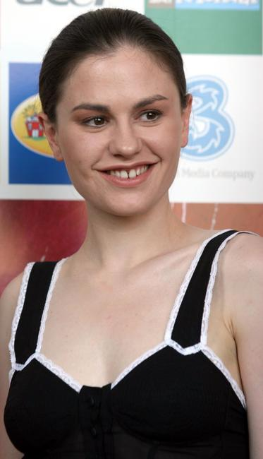 Anna Paquin at the Giffoni Film Festival.