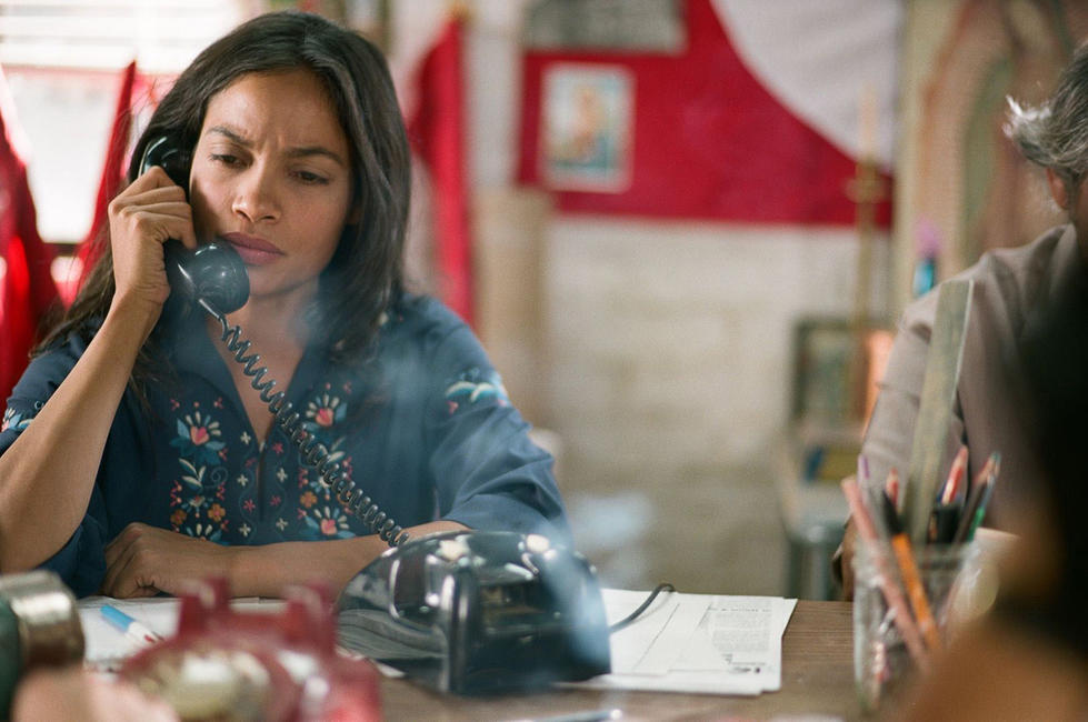Rosario Dawson as Dolores Huerta in
