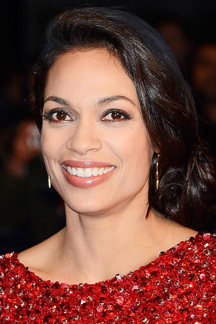 Rosario Dawson at the London premiere of