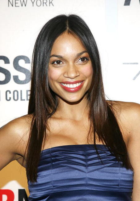 Rosario Dawson at the launch of