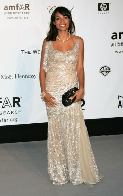 Rosario Dawson at the Cinema Against Aids 2007 in aid of amfAR.
