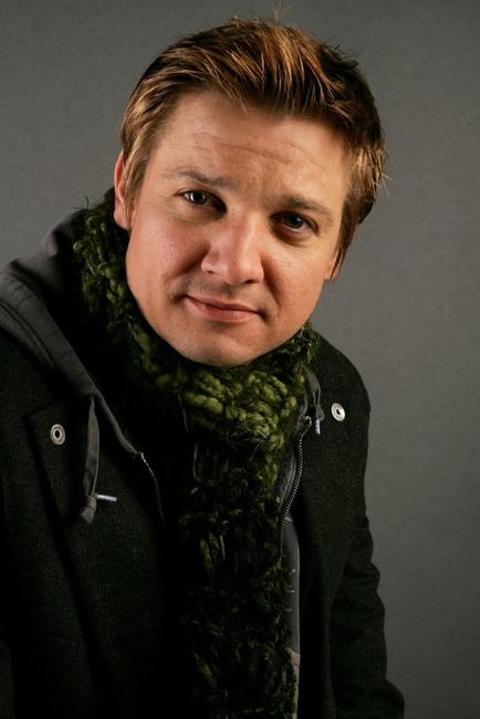 Jeremy Renner at the Getty Images Portrait Studio during the 2006 Sundance Film Festival.