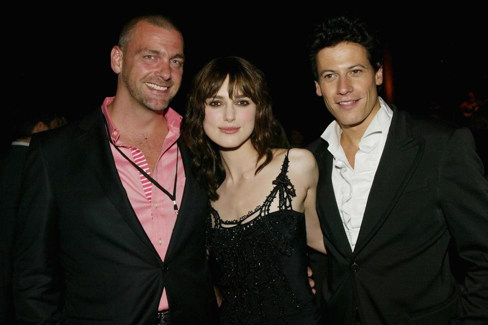 Ray Stevenson, Keira Knightley and Ioan Gruffudd at the after party of the world premiere of