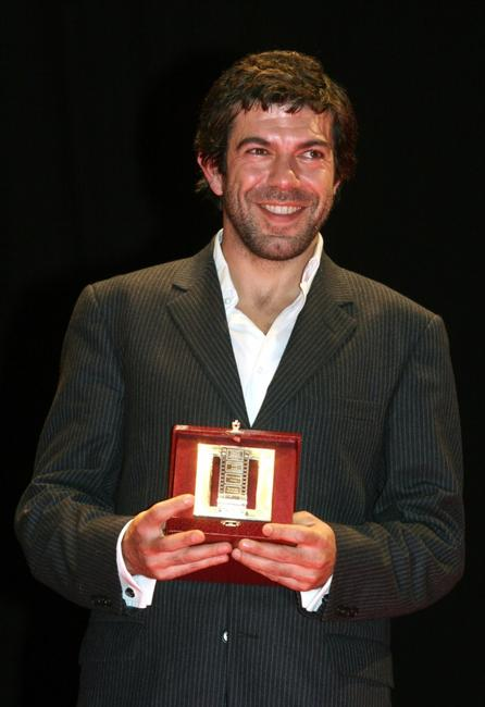 Pierfrancesco Favino at the Italian Movie Awards.