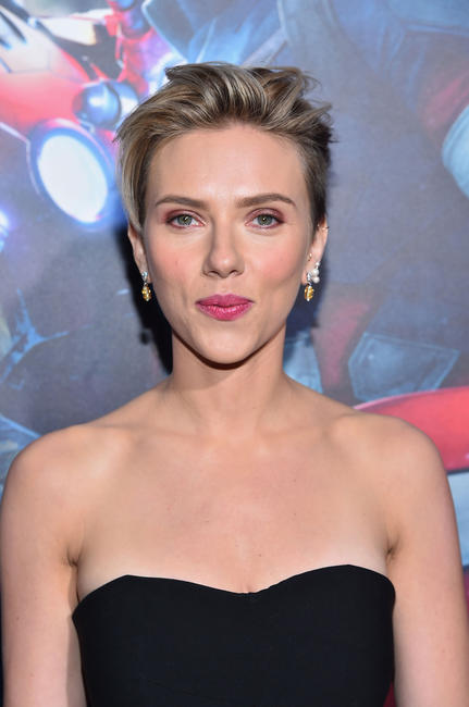 Scarlett Johansson at the California world premiere of