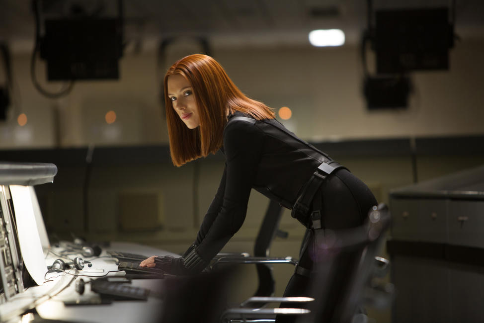 Scarlett Johansson as Black Widow in